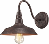 ELK 66945-1 Urban Lodge Retro Weathered Bronze Wall Lamp