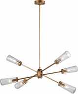 ELK 66981-6 Xenia Contemporary Matte Gold 42  Lighting Chandelier