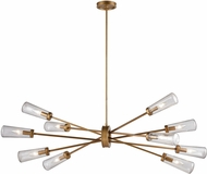 ELK 66982-10 Xenia Modern Matte Gold 54  Kitchen Island Lighting
