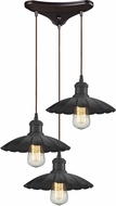 ELK 67040-3 Corrine Modern Oil Rubbed Bronze Multi Ceiling Light Pendant