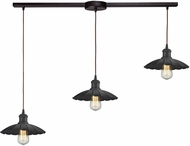 ELK 67040-3L Corrine Contemporary Oil Rubbed Bronze Multi Ceiling Pendant Light