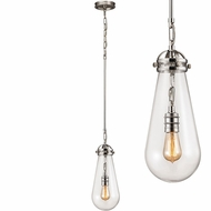 ELK 67110-1 Gramercy Contemporary Polished Nickel Mini Drop Ceiling Lighting