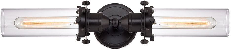 Oil Rubbed Bronze Bathroom Lighting Elk 673412 Fulton Modern Oil Rubbed Bronze Bath Lighting Sconce .
