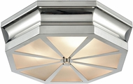 ELK 68100-3 Windsor Contemporary Polished Nickel 16  Overhead Lighting