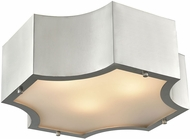ELK 68121-3 Gordon Modern Satin Nickel 15  Home Ceiling Lighting