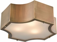 ELK 68131-3 Gordon Modern Classic Brass 15  Overhead Lighting Fixture