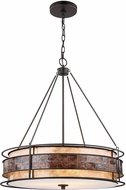 ELK 70264-3 Tremont Tiffany Bronze Drum Lighting Pendant