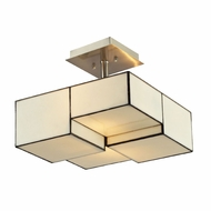 ELK 72061-2 Cubist Contemporary Brushed Nickel Overhead Lighting