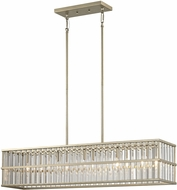 ELK 81096-5 Ridley Contemporary Aged Silver Kitchen Island Light