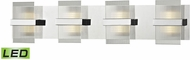ELK 81142-LED Desiree Contemporary Polished Chrome LED 4-Light Bathroom Lighting