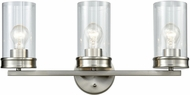 ELK 81302-3 Leland Modern Satin Nickel 3-Light Bathroom Light Sconce