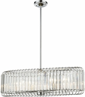 ELK 81326-6 Beaumont Polished Chrome Island Lighting