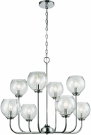 ELK 81365-4-4 Emory Modern Polished Chrome Chandelier Light