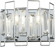 ELK 81370-2 Crosby Polished Chrome 2-Light Bathroom Wall Light Fixture