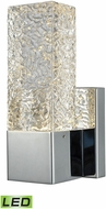 ELK 85105-LED Cubic Ice Contemporary Polished Chrome LED Light Sconce