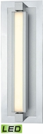 ELK 85120-LED Kiara Contemporary Frosted And Polished Nickel / Satin Aluminum LED 15  Bath Lighting