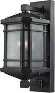 ELK 87041-1 Lowell Matte Black Exterior Wall Sconce Lighting
