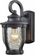 ELK 87070-1 Milford Graphite Black Exterior Lighting Wall Sconce