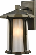 ELK 87091-1 Brighton Smoked Bronze Exterior Wall Light Sconce