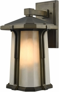 ELK 87092-1 Brighton Smoked Bronze Exterior Wall Light Sconce