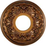 ELK M1000AB Acanthus Antique Bronze 11 Inch Medallion