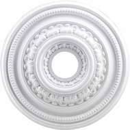 ELK M1002WH English Study White 18 Inch Medallion