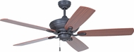 Craftmade ANV52ABZ5 Anvil Aged Bronze Brushed 52  Home Ceiling Fan