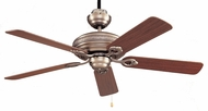 Craftmade BFT52AN5C Beaufort Antique Nickel 52  Home Ceiling Fan