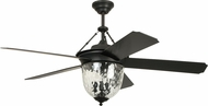 Craftmade CAV52ABZ5LK Cavalier Aged Bronze Brushed 52  Ceiling Fan