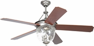 Craftmade CAV52PT5LK Cavalier Pewter Fluorescent 52  Home Ceiling Fan