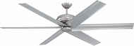Craftmade COL72BP6 Colossus Modern Brushed Pewter 72  Home Ceiling Fan
