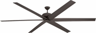 Craftmade COL96ESP6 Colossus Contemporary Espresso LED 72  Ceiling Fan