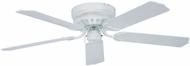 Craftmade CU52WW5 Close-Up White Fluorescent 52  Home Ceiling Fan