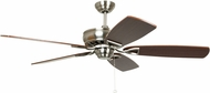 Craftmade SUA56BNK5 Supreme Air Brushed Polished Nickel 56 Ceiling Fan