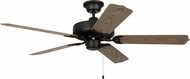 Craftmade WOD52ABZ5X All Weather Aged Bronze Brushed Exterior 52 Ceiling Fan