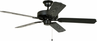 Craftmade WOD52MBK5X All Weather Matte Black Exterior 52 Ceiling Fan