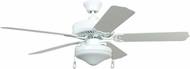 Craftmade WOD52WW5C All Weather White Outdoor 52 Home Ceiling Fan
