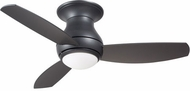 Emerson Ceiling Fans CF144LGRT Curva Contemporary Graphite LED Outdoor 44  Ceiling Fan