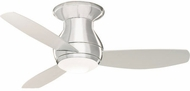 Emerson Ceiling Fans CF145LBS Curva Modern Brushed Steel LED 44  Home Ceiling Fan