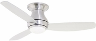 Emerson Ceiling Fans CF153LBS Curva Modern Brushed Steel LED 52  Home Ceiling Fan