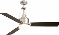 Emerson Ceiling Fans CF205LBS Highpointe Brushed Steel LED 54 Ceiling Fan