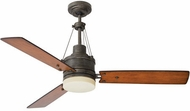 Emerson Ceiling Fans CF205LVS Highpointe Vintage Steel LED 54  Home Ceiling Fan