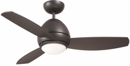 Emerson Ceiling Fans CF244GRT Curva Contemporary Graphite Halogen Indoor / Outdoor 44 Home Ceiling Fan
