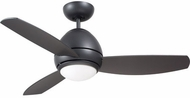 Emerson Ceiling Fans CF244LGRT Curva Contemporary Graphite LED 44  Ceiling Fan