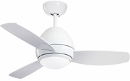 Emerson Ceiling Fans CF244LWW Curva Contemporary Appliance White LED 44  Ceiling Fan