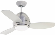 Emerson Ceiling Fans CF245LBS Curva Modern Brushed Steel LED 44  Home Ceiling Fan