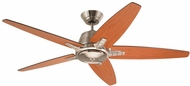 Emerson Ceiling Fans CF500BS Euclid Brushed Steel 56 Home Ceiling Fan