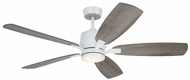 Emerson Ceiling Fans CF5300SW Ion Eco Satin White LED Home Ceiling Fan