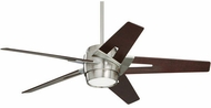 Emerson Ceiling Fans CF550LDMBS Luxe Eco Contemporary Brushed Steel LED 54 Ceiling Fan