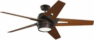 Emerson Ceiling Fans CF550LWAORB Luxe Eco Modern Oil Rubbed Bronze LED 54 Home Ceiling Fan